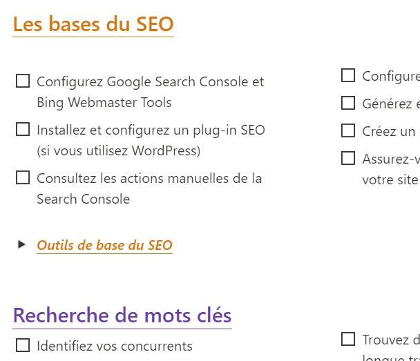L'ultime checklist seo 2021 - Wild Agency